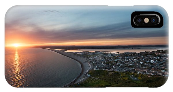 Chesil Beach  Phone Case by Ollie Taylor