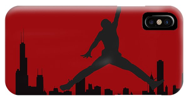 Chicago iPhone Case - Chicago Bulls by Joe Hamilton