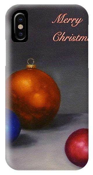 Christmas Glow IPhone Case