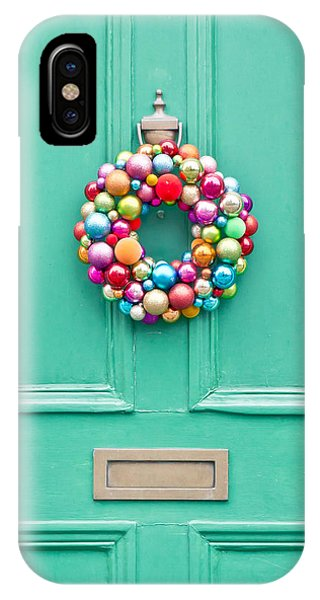 Christmas iPhone Case - Christmas Wreath by Tom Gowanlock