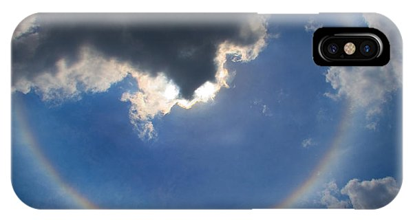 Circular Rainbow IPhone Case