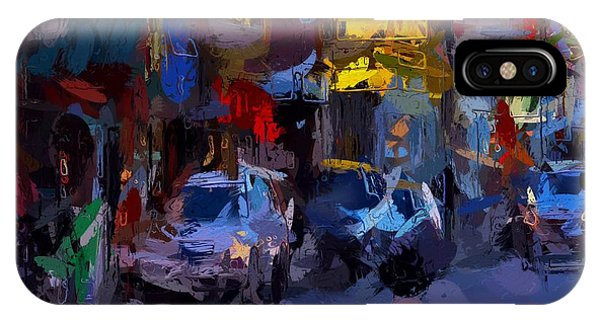 China Town iPhone Case - City Lights by Steve K