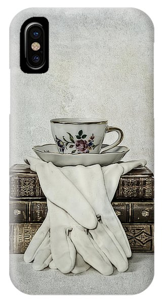 Saucer iPhone Case - Coffee Time by Joana Kruse