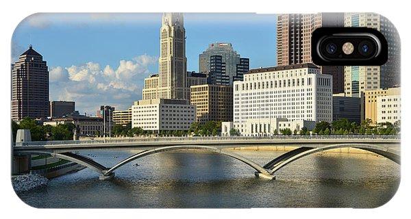 Columbus Ohio Skyline Photo IPhone Case