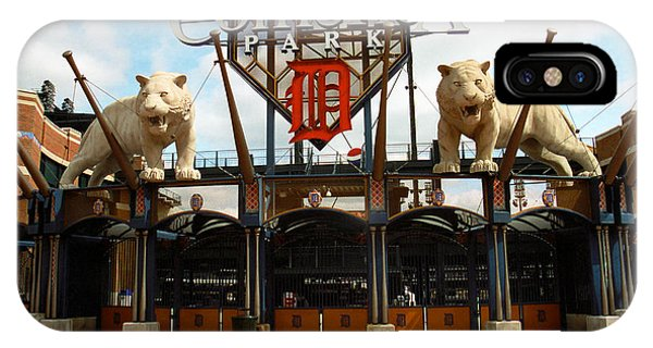 Comerica Park - Detroit Tigers IPhone Case