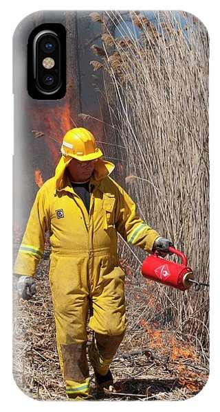 Controlled Fire Phone Case by Jim West