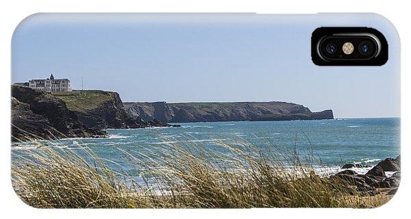 Cornish Seascape Gunwalloe IPhone Case