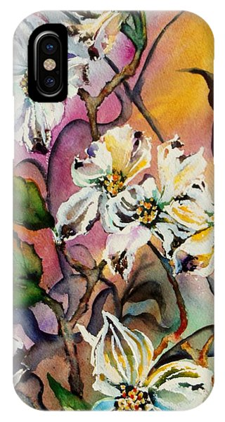 Dance Of The Dogwoods IPhone Case