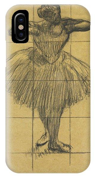 Impressionistic iPhone Case - Dancer by Edgar Degas