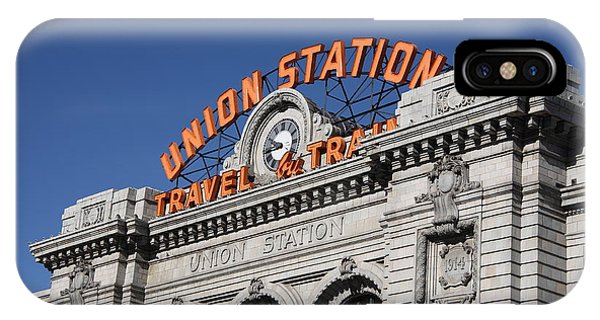 Denver - Union Station IPhone Case