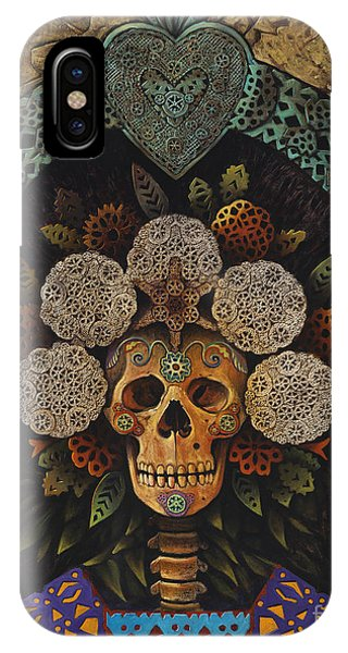 Dia De Muertos Madonna IPhone Case