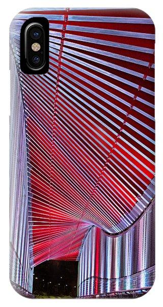 Double Helix Footbridge IPhone Case