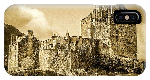 IPhone Case featuring the photograph Eilean Donan Castle by Susan Leonard
