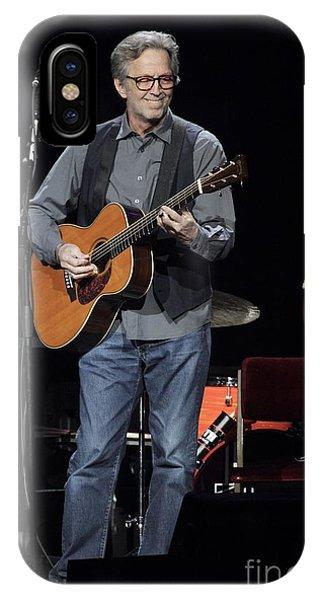 Eric Clapton iPhone Case - Eric Clapton by Concert Photos