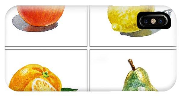 Lemon iPhone Case - Farmers Market Delight  by Irina Sztukowski