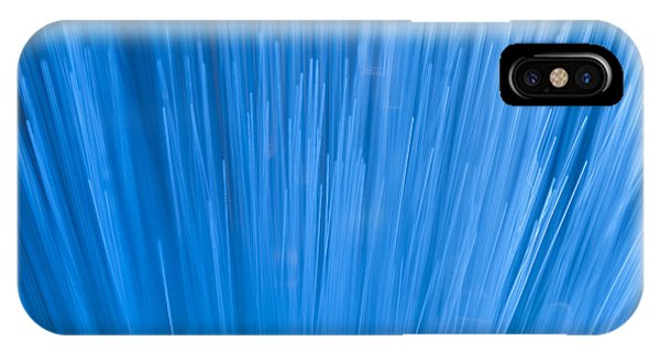 Fiber Optics Close-up Abstract IPhone Case