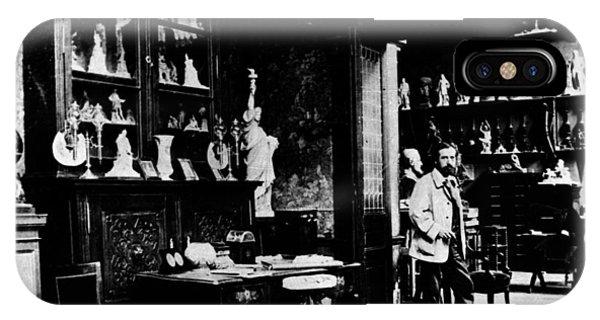 Frederic-auguste Bartholdi (1834-1904) IPhone Case