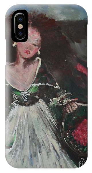 IPhone Case featuring the painting Free by Laurie Lundquist