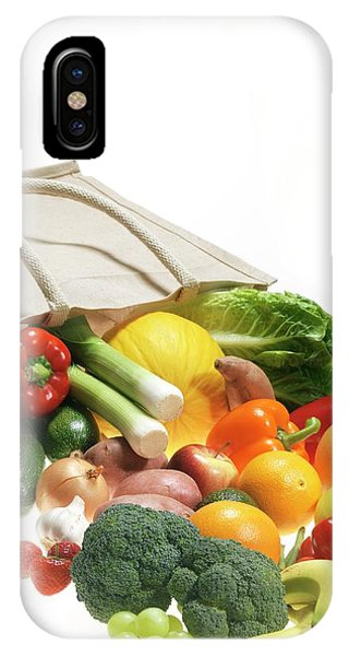 Fruit And Vegetables Phone Case by Tek Image/science Photo Library
