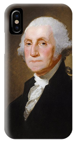 George Washington iPhone Case - George Washington by Gilbert Stuart