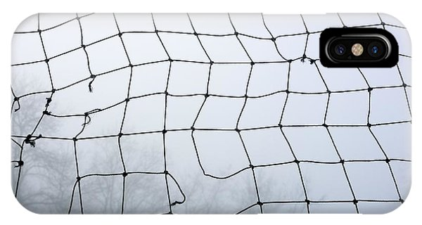 Meshed iPhone Case - Goal by Bernard Jaubert