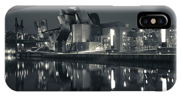 Gehry iPhone Case - Guggenheim Museum Designed By Frank by Panoramic Images