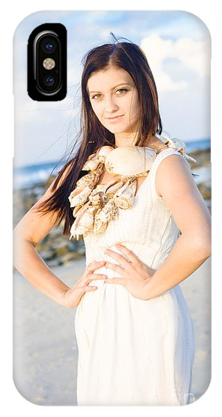 Holiday Woman IPhone Case