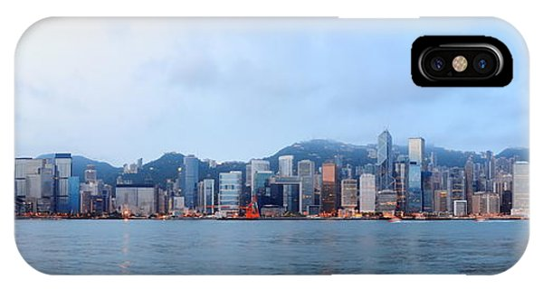 Hong Kong Morning IPhone Case