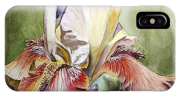 Iris Painting IPhone Case