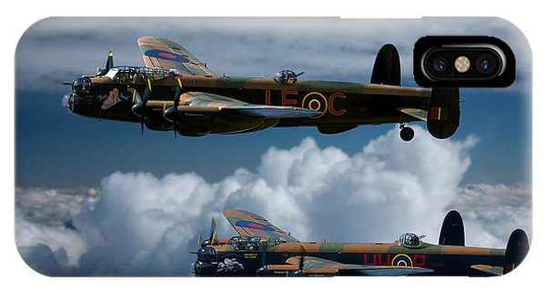3 Lancaster Bombers IPhone Case
