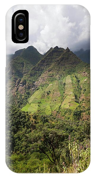 East Africa iPhone Case - Landscape In The Semien Mountains by Martin Zwick