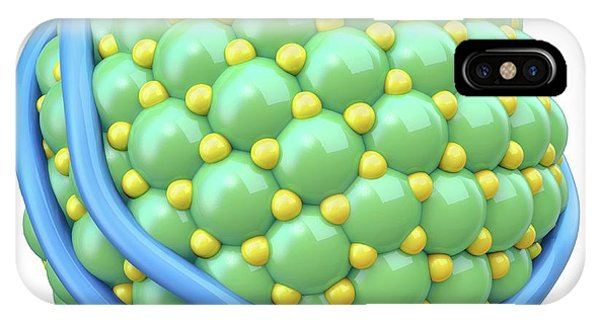 Lipoprotein Phone Case by Maurizio De Angelis