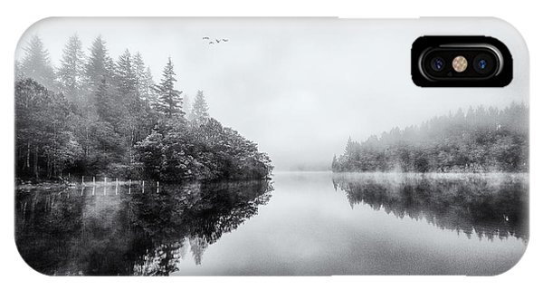 Loch Ard iPhone Case - Loch Ard by John Farnan