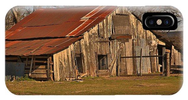 Louisiana Cajun Cypress Barn IPhone Case