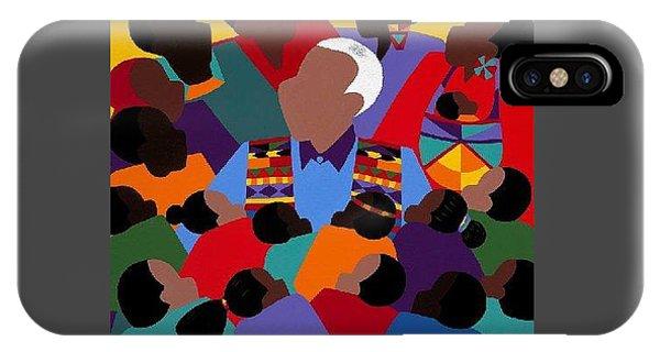 iPhone Case - Madiba Mandela by Synthia SAINT JAMES