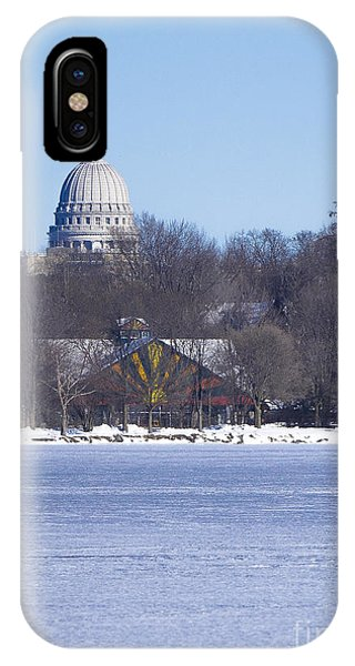 Madison Capitol And Zoo IPhone Case