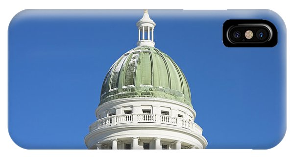 Maine State Capitol Building In Augusta IPhone Case