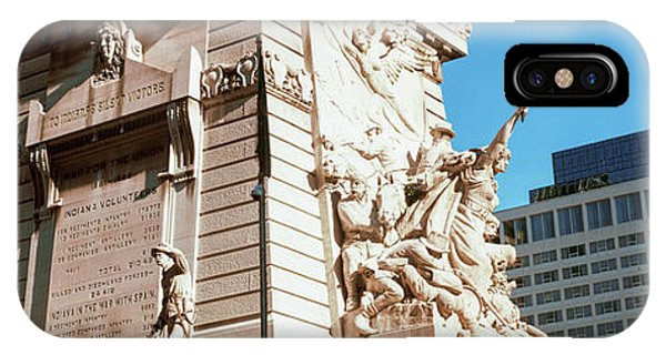 Monument In A City, Soldiers IPhone Case