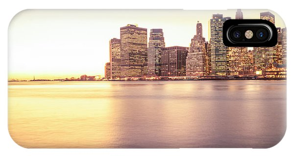 City Sunset iPhone Case - New York City by Vivienne Gucwa
