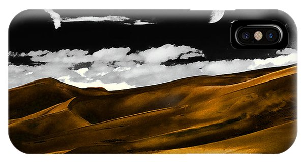 Night At The Great Sand Dunes IPhone Case