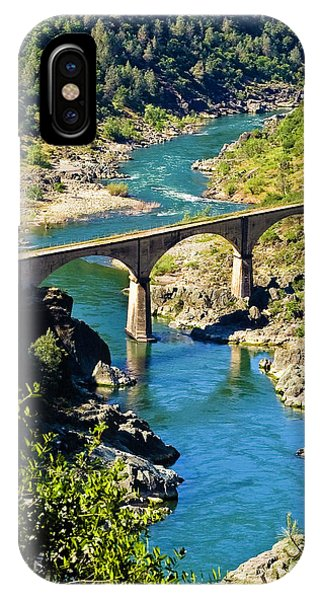 IPhone Case featuring the photograph No Hands Bridge by Sherri Meyer