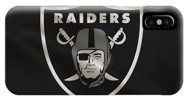 Iphone 4 iPhone Case - Oakland Raiders Uniform by Joe Hamilton