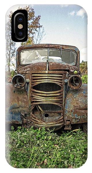Old Junker Car IPhone Case