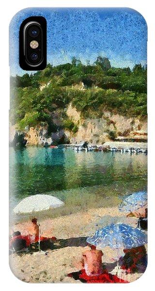 Paleokastritsa Beach IPhone Case