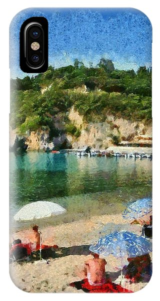 Paleokastritsa Beach IPhone Case