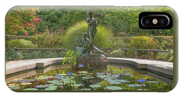 IPhone Case featuring the photograph Park Beauty by Theodore Jones
