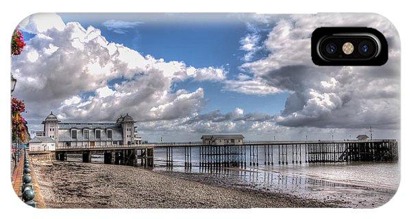 Penarth Pier 3 IPhone Case
