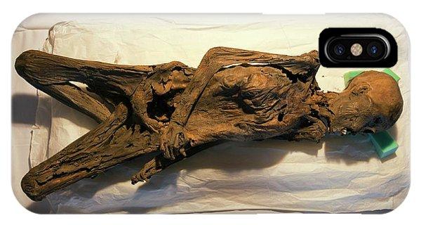 Peruvian Mummy Phone Case by Marco Ansaloni / Science Photo Library