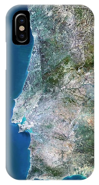 Portugal Phone Case by Planetobserver/science Photo Library