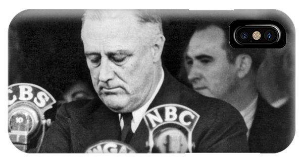 President Franklin Roosevelt IPhone Case